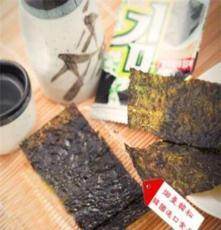 煙臺休閑食品 韓國進口干制水產品 海牌海苔 營養美味 海牌海苔