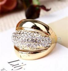 四色可选饰品 水晶钻戒 外贸欧美戒指批发 潮流时尚JZ1332