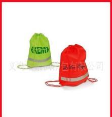 紫楓箱包 廠家供應190T滌綸雙肩背束口袋/拉繩束口袋