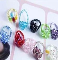 2012新款韓版水晶戒指指環 熱賣時尚水晶戒指 指環批發0671