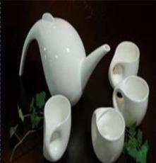 高档骨瓷精品 商务礼品 家居茶具 创意茶具系列 水滴套装(小号)