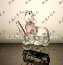 水晶工藝品 水晶擺件 擺飾 禮品 裝飾品 小熊 對熊 游樂熊