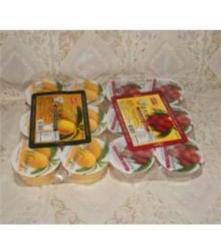 盛香珍荔枝椰果果冻(荔枝布丁)420克*18板 台湾食品批发