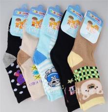 秋冬新款 5-8岁儿童全棉加厚毛巾男袜 舒适缝头透气抗菌儿童袜子