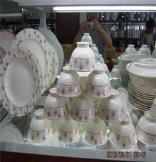 厂家直销淄博骨瓷餐具套装 结婚乔迁送礼时尚精美礼品餐具