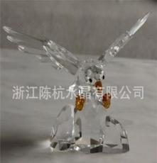 飾品 水晶工藝品 水晶動物 禮品 老鷹