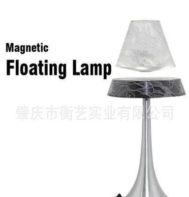 超省电 白色透明蕾丝简约悬浮触摸台灯 磁悬浮室内灯具批发