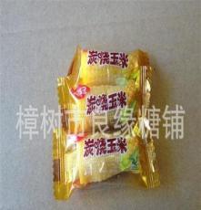 批發銷售 炭燒玉米盒裝軟喜糖 3kg*4包紙盒裝喜糖