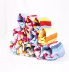 卓东 专业袜子厂家直销女式间条短袜女船袜批发 #13038