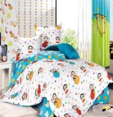 厂家直销 批发代理床上用品全棉斜纹印花纯棉四件套公主田园