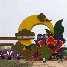 成都厂家出售大型铁架花坛景观造型 可以来图定制