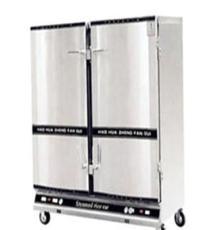 厂价直销食堂炊事设备1-2双门蒸饭柜