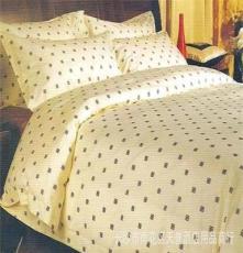 平纹印花三四件套/套件 连锁/星级/商务 宾馆酒店床上用品布草