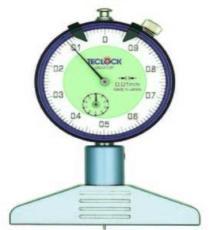 日本TECLCOK得樂 指針型特殊深度計DM-210P