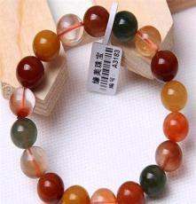 緣美珠寶 巴西天然三色福祿壽手鏈 天然水晶手鏈 健康長壽之石