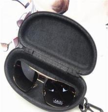 多款混批鏡盒 經典黑色帶掛勾男士太陽鏡盒 EVA大號牛津布墨鏡盒