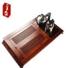 廠家直銷 新款茶圣 柯木茶盤 4合1電磁爐功夫茶盤 實木茶盤