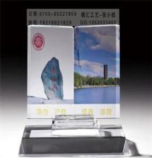 福州定制校慶水晶書擺件工藝品,福州定做水晶桌面擺件紀念品