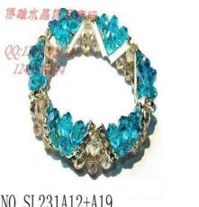 韩国饰品批发 出口热卖水晶首饰 厂家供应直销 8mm水晶串珠