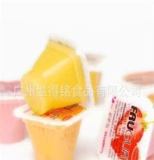 馬來西亞散裝FRUGURT優酪果凍芒果味20斤/箱 進口零食品布丁批發