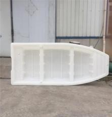 广汉市捕鱼钓鱼塑料小船3米长加厚抗老化平头塑料胶船龙虾养殖船