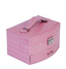 皮革大扇形首饰盒 饰品盒 高档首饰盒 饰品盒批发