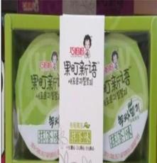 供應韓國風味果凍 果町新語布丁果凍兩杯抹茶170克 50條*170克