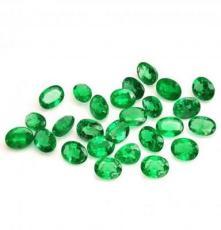 SER彩寶 4x6mm天然橢圓形祖母綠裸石 960元/克拉 正品現貨