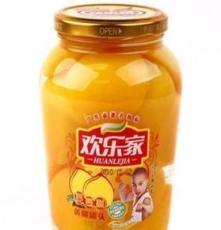 歡樂家 黃桃 瓶裝水果罐頭 即食水果 新鮮水果