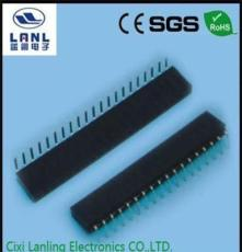 连接器/接插件/2.54mm单排/双排母座/弯脚