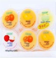 果凍 馬來西亞進口 cocon可康 布丁果凍6只裝 單板480g 一箱16盒