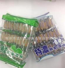 進口休閑食品批發 特濃鮮奶薄餅 特鮮蔬菜薄餅   300g*12包/箱