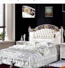 供应批发卧室套房家具 软体名床2002#