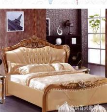 供应批发卧室套房家具 软体名床2041#