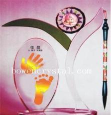 各種造型水晶手足印批發生產/兒童攝影機構高檔手足印相冊