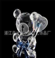 廠家直銷各種k9水晶小熊系列 圣誕節禮品
