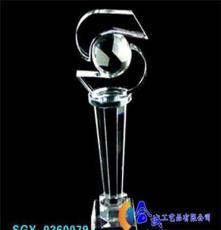 供應精致水晶工藝獎杯 獎牌 煙灰缸等