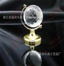 廠家出售多款精美水晶工藝世界地圖水晶球擺件