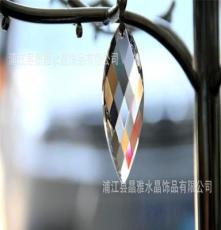批發水晶燈飾掛件 紐葉 水晶燈飾配件 水晶掛件