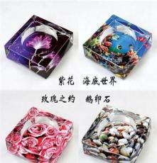 廠家直銷 水晶煙灰缸logo 水晶煙缸