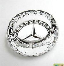 畅销新款 水晶烟灰缸 宝马汽车标烟缸 实用水晶摆件 4S店礼品