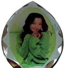 廠家 批發K9水晶影像 水晶彩屏冰山批發 水晶彩像批發