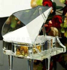 厂家直销 水晶钢琴 送男女朋友礼物 生日节日礼品 支持小额批发
