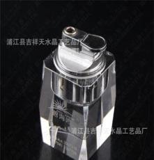 酒店專用高檔水晶煙灰缸套裝(打火機) 煙具