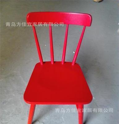 奥勒餐椅宜家实木餐椅 电脑椅 学习椅 桦木实木环保椅子 宜家家居