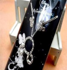 欧美外贸饰品尾货批发 原单正品混批 迪士尼米奇耳钉项链套装