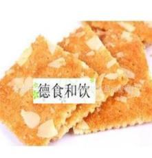 進口零食批發餅干韓國 海太IVY杏仁薄餅67g*24盒/箱