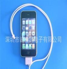 供应IPhone手机装饰挂锁、手机转接头、数据线、伸缩线