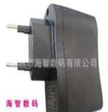 迷你欧规USB充电器 手机充电器 5V800MA