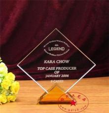 现货水晶奖杯 年前可发货,急需定制奖杯奖牌 供货及时 发货速度